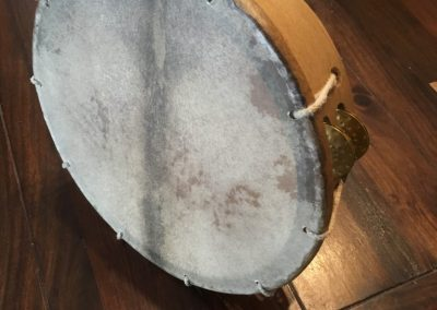 Tambourin, 30cm, Naturfell