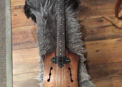 E-Gitarre mittelalter Design, Spezialstimmung