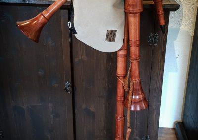 Marktsack, A-Moll, zwei Bordune mit Synthetiksack
